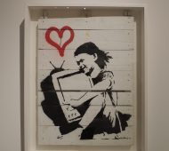 Roma, Banksy in mostra