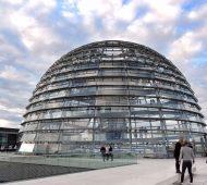Il Reichstag e la sua avveniristica cupola
