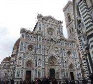 Un lunedì di pioggia a Firenze